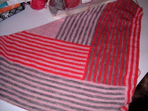 derecho shawl KAL