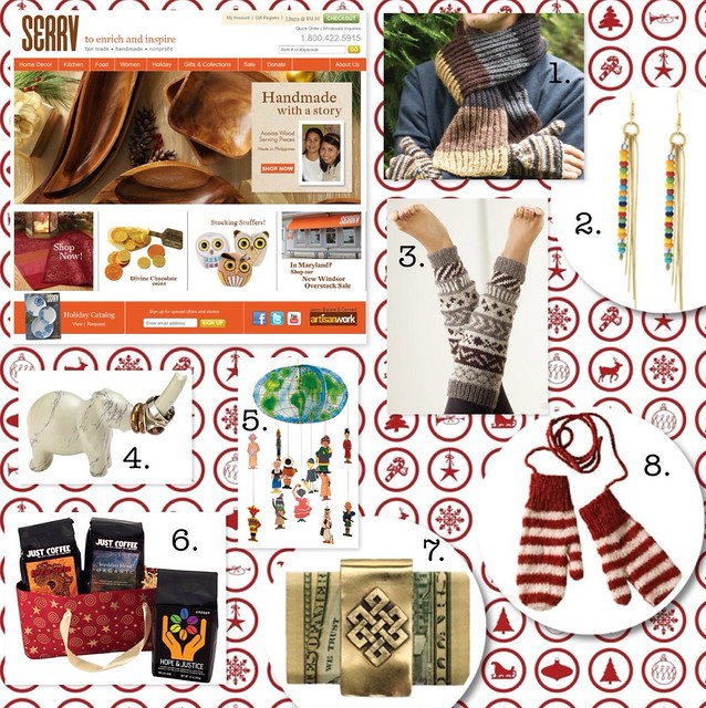 SERVV - Shopping source for Ethical Holiday Gifts