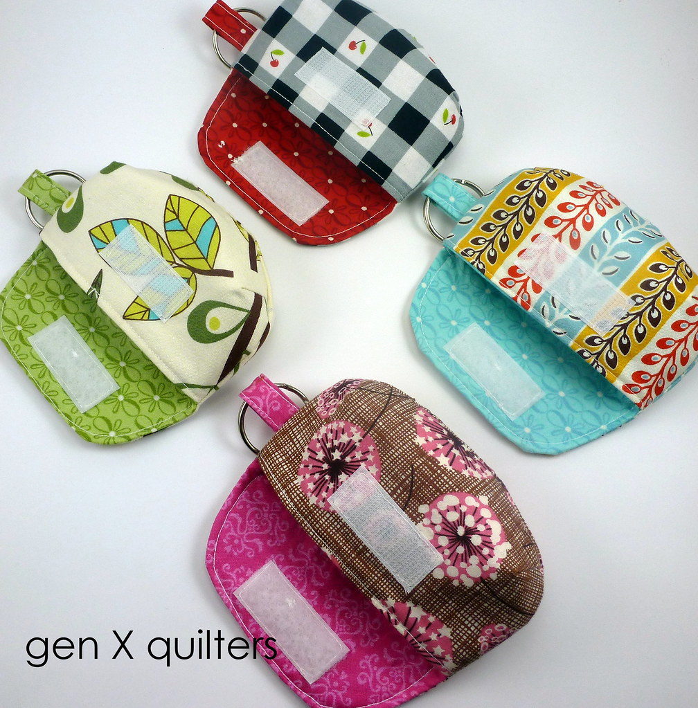 keychain clutches inside lining