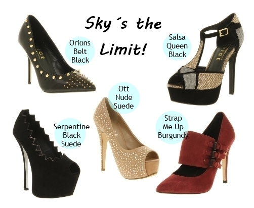 Shy´s the Limit Over Trendy Pumps