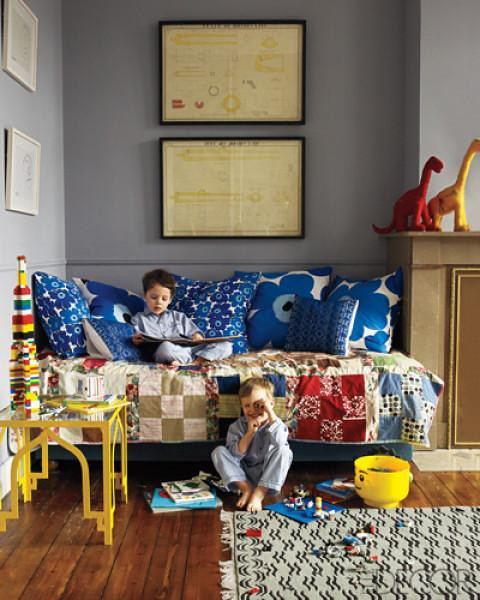 Elle decor children 39 s room contemporary anne marie midy an for Anne marie witmeur decoration
