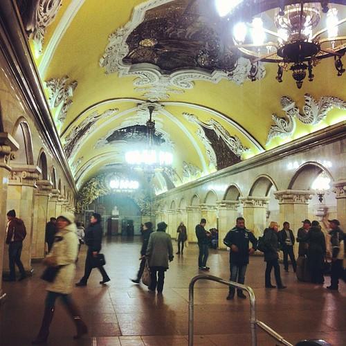 Komsomolskaya #wander