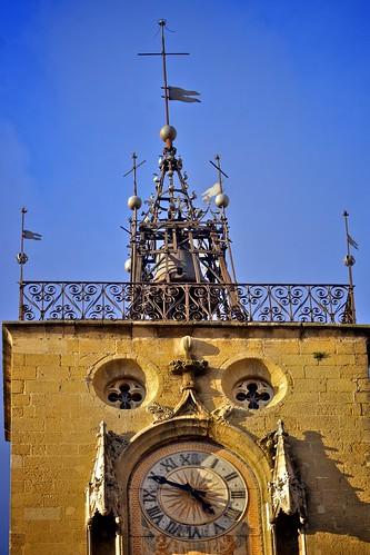 La tour de l'horloge, Aix-en-Provence