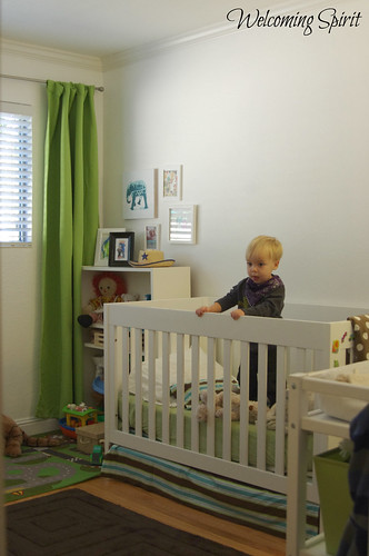 Zoom's room crib