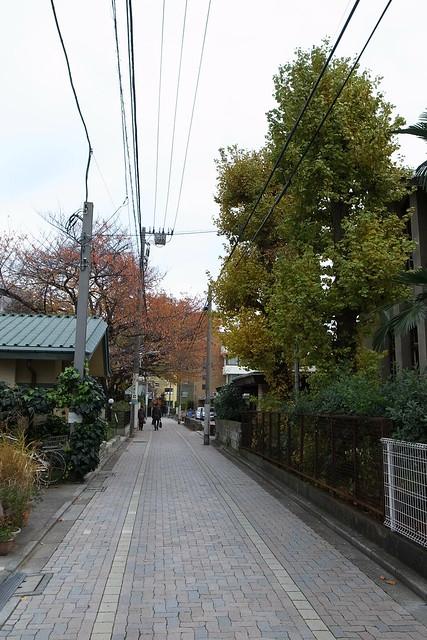 walking in Mejiro
