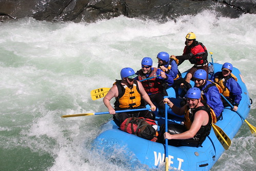 NORTH FORK AMERICAN CHAMBERLAIN FALLS w/ WET River Trips by W.E.T. River Trips