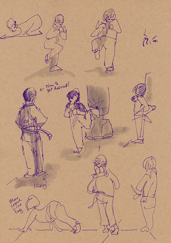 December 2012: My Life Drawing Classes