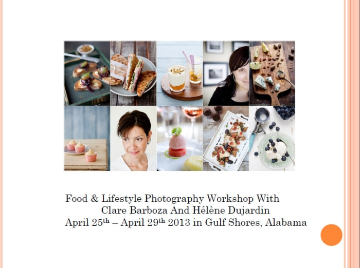 Workshop April 25-29th 2013