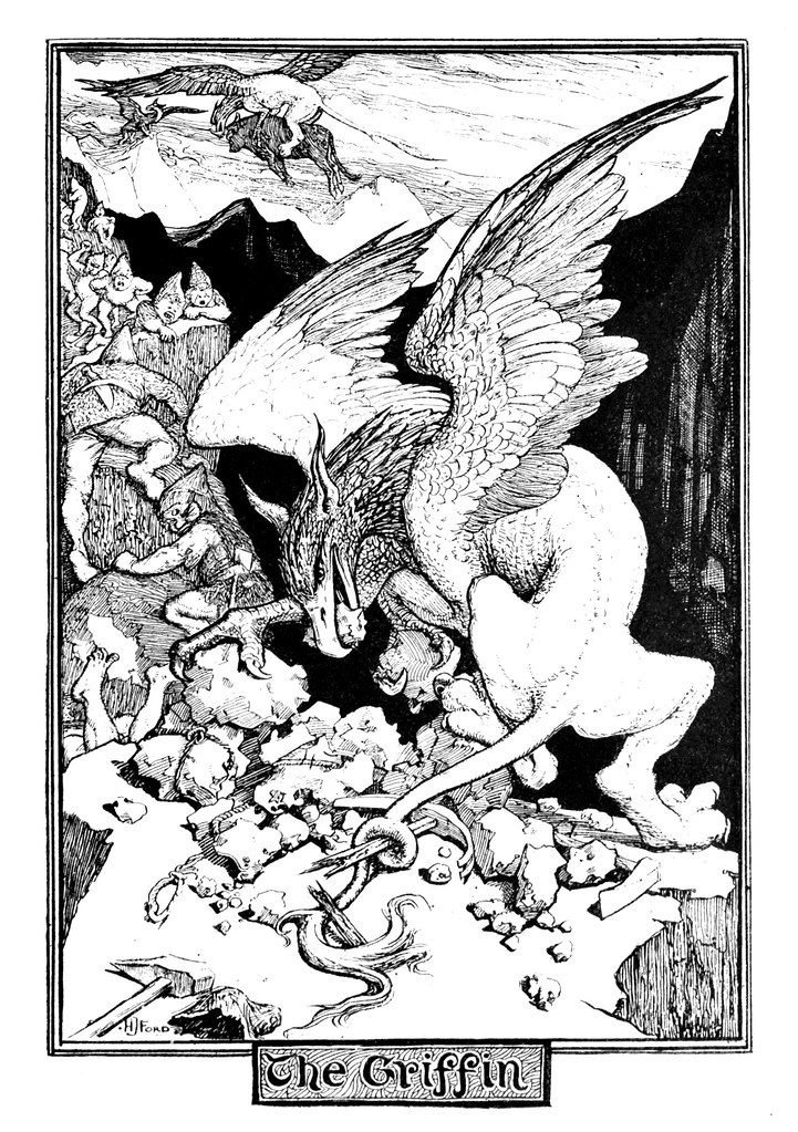 Henry Justice Ford - The red book of animal stories selected and edited by Andrew Lang, 1899 (illustration 1)