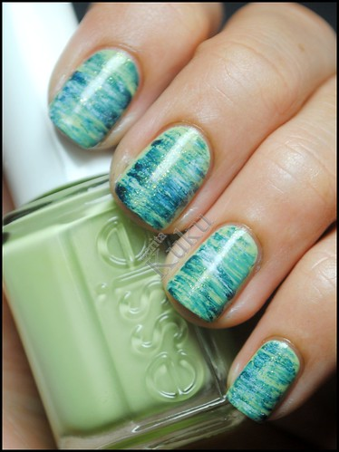 Cerita kuku fan brush nail art green fan brush 9cropped prinsesfo Image collections