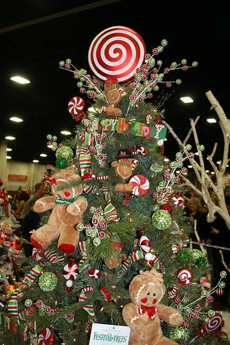 Festival of Trees gingerbread Christmas Tree