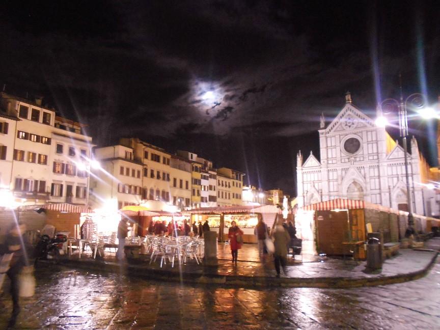 florence piazza santa croce