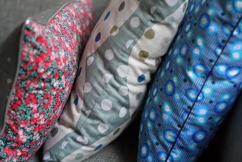 nieuwe kussens