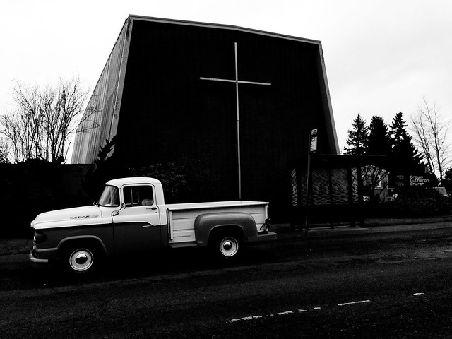 Photo of Truck and Church