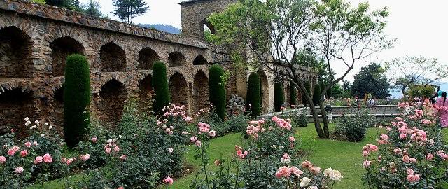 Mughal gardens of srinagar Mughal garden booking