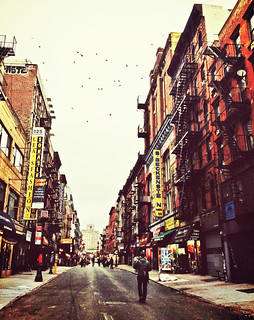 Sunday Morning on Orchard Street - Lower East Side - New York City