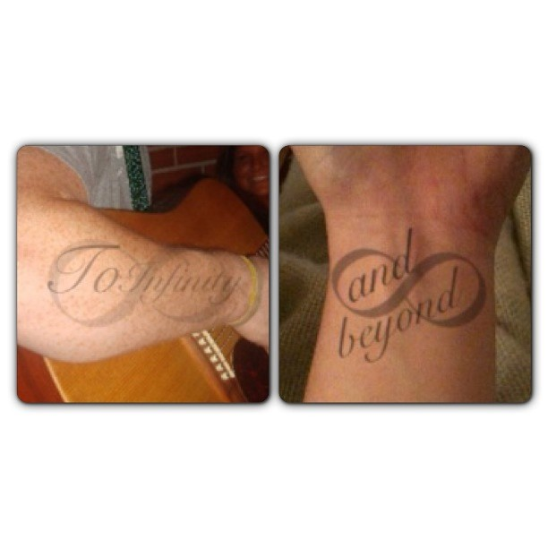 Infinity Couples Tattoos