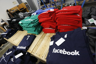 Facebook clothes at company store