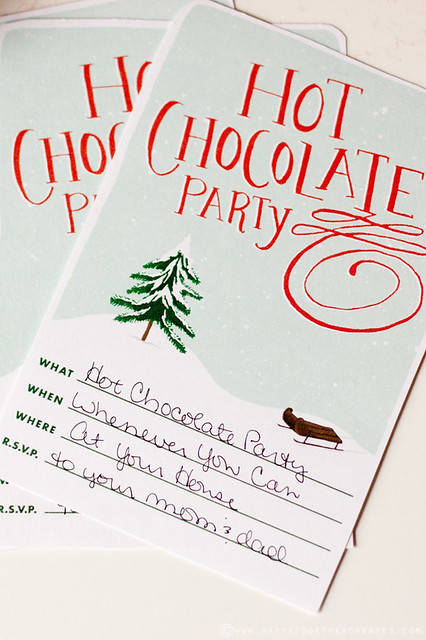 Hot Chocolate Party in a Box Gift
