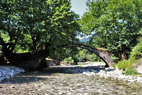 bridge greece flickr