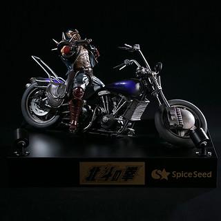 說說看!我叫什麼名字!! 魄力十足的《北斗神拳》傑基 & 機車組雕像  ジャギ&バイク