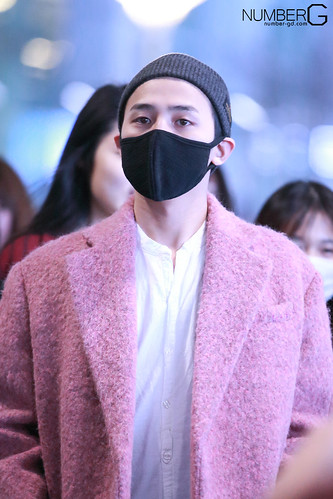 Big Bang - Incheon Airport - 22mar2015 - G-Dragon - Number G - 02