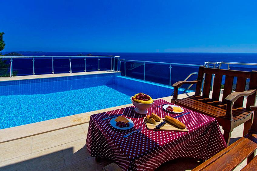 Kalkan/Kaş/Antalya, Türkiye kiralık villa , kiralık yazlık, yazlık villa - 3786