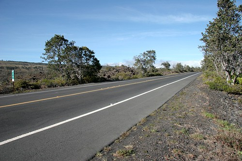 Highway across the lava - Big Island