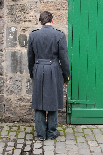 belgian airforce greatcoat