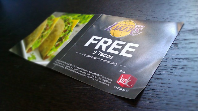 Free tacos bitch!