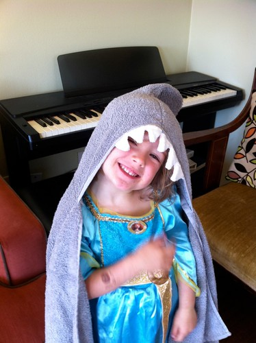 Shark Hooded Towel | DIY Christmas Gifts For Everyone In Your List