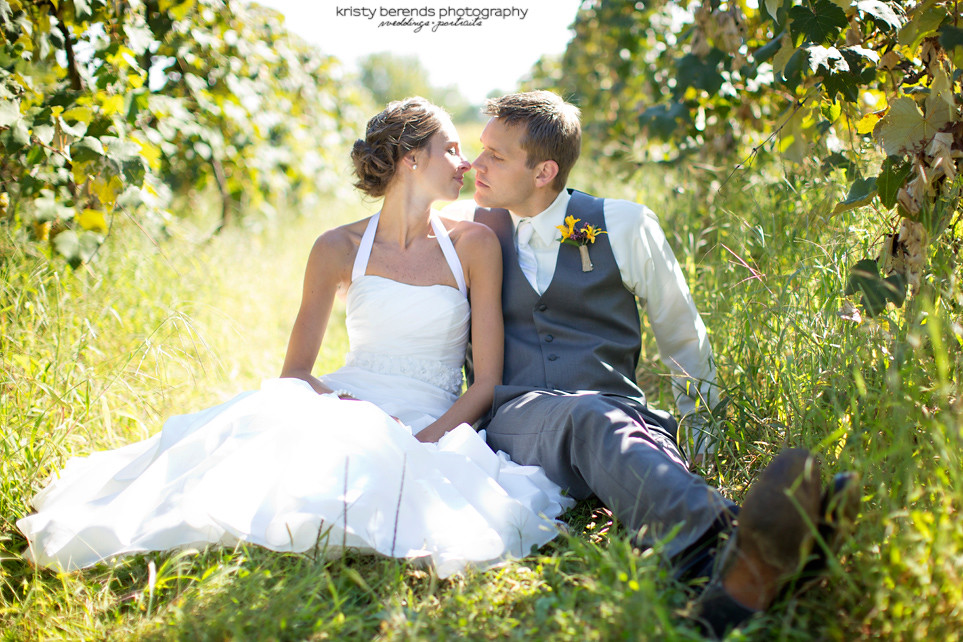 Wedding Photography at Vineyard