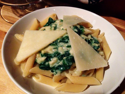 Creamed Spinach Pasta Sauce