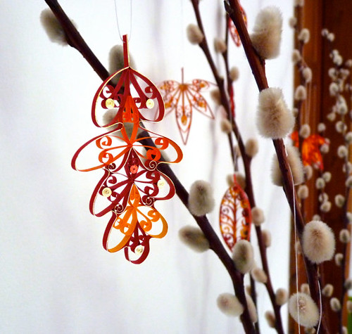 quilled-leaves