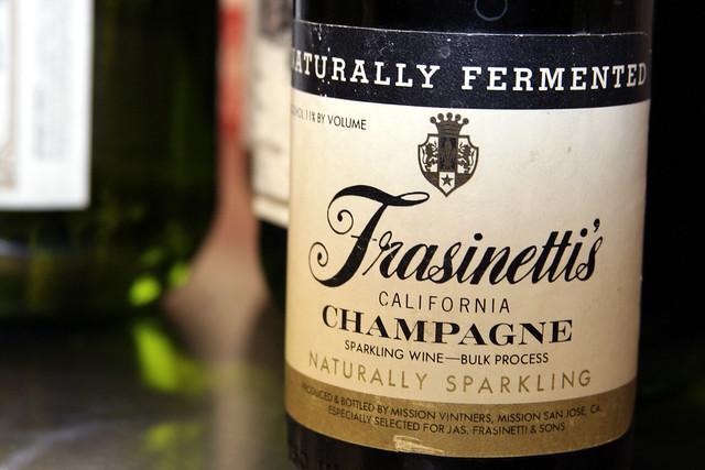 Frasinetti's Champagne