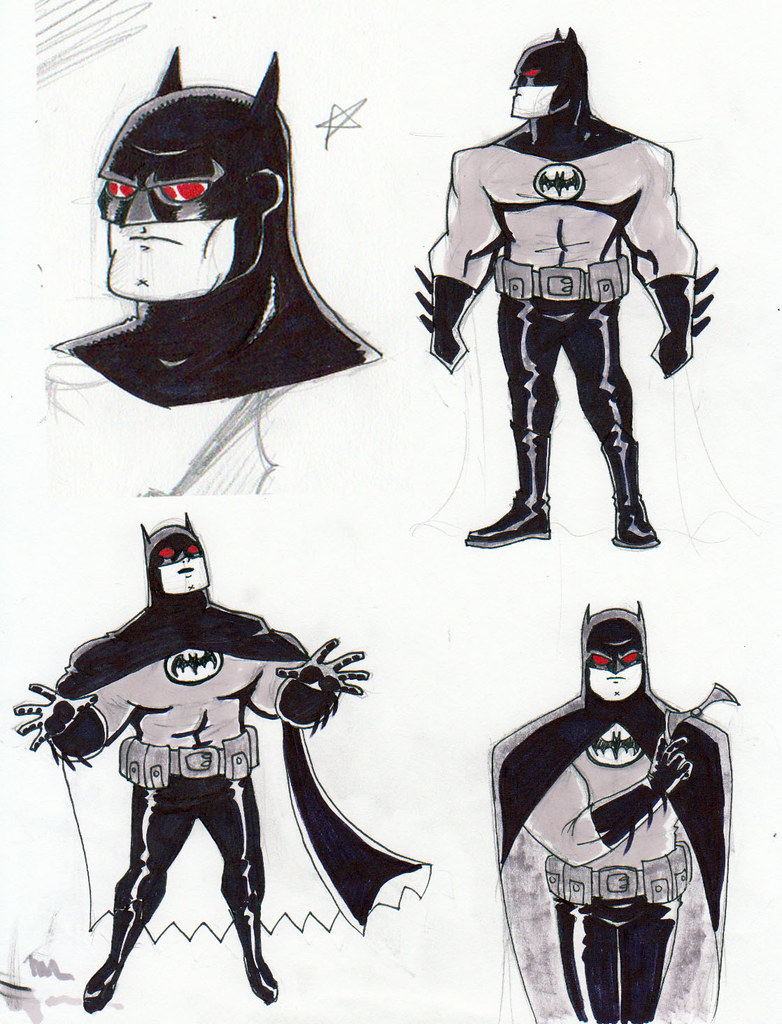 batmans sketches