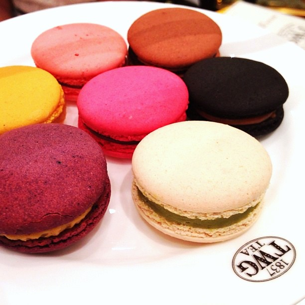 @TWGTea tip: the best tea-infused macaron is the black tea with caramel. Next is the peanut butter with hazelnut taste.