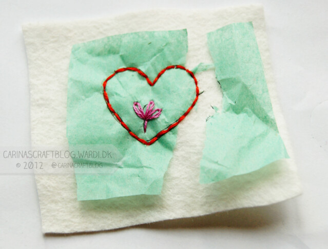 Tissue paper transfer tutorial