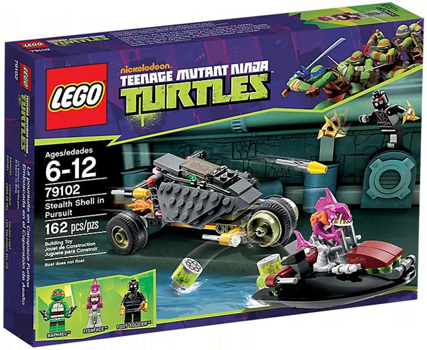 LEGO Teenage Mutant Ninja Turtles 79102 - Stealth Shell in Pursuit