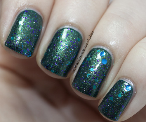 Pretty and Polished Pretty As A Peacock (4)