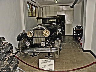 "1924 Cadillac in The Technical Museum ""Dimitrie Leonida"", Bucharest"