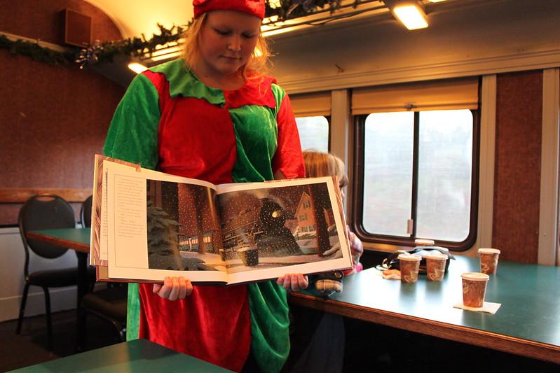 Cape Cod Polar Express book reading.