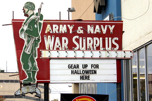 Friedman's Army/Navy Store Neon Sign