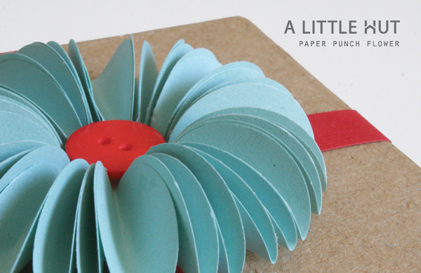 paper punch flower