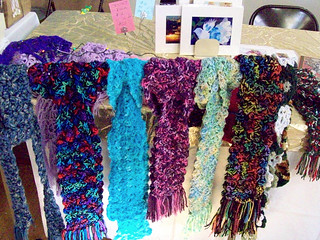 Craft fair display at Our Lady of Guadalupe church, ABQ, 11.11.12