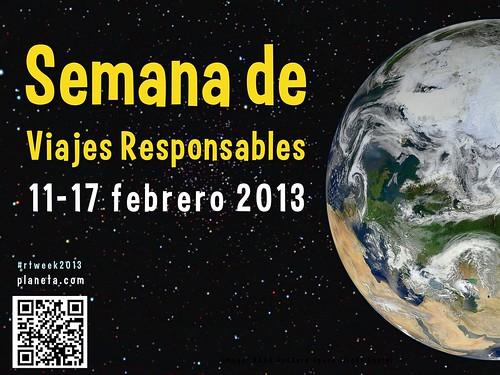 Semana de Viajes Responsables 2013
