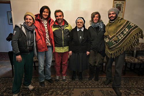 Incontro con madre Arusiak nel centro orfani di Gyumri Armenia