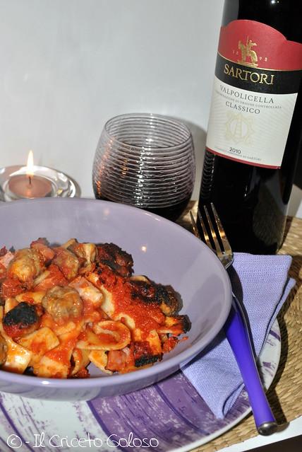 Pasta al forno al gorgonzola (1)