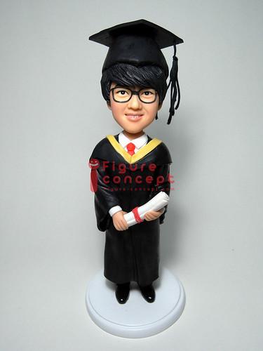 畢業Q版人像公仔Figure by www.figure-concept.com