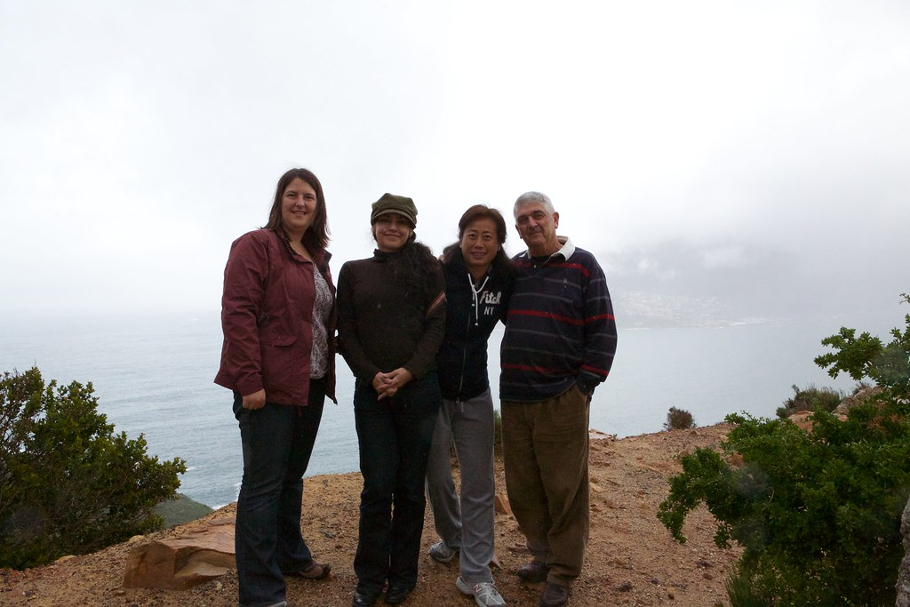 With ACFEA staff Sylvia Garcia Marin (Latin America Manager), Camus Leung (Hong Kong Travel Consultant) and Robert Latimer (Australia Manager) in South Africa